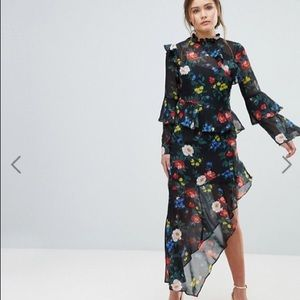 Miss Selfridge Midi Cocktail Dress